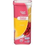 Great Value Raspberry Lemonade Drink Mix