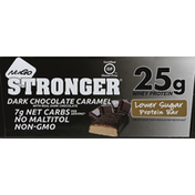 NuGo Protein Bars, Lower Sugar, Dark Chocolate Caramel