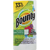 Bounty Paper Towels, Full Sheet, Prints, 2-Ply