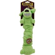 Multipet Dog Toy, Loofa Bungee Scrunchy, Medium