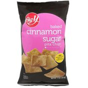 Big Y Sugar Cinnamon Baked Pita Chips