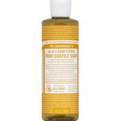 Dr. Bronner's Soap, Pure-Castle,  Citrus, 18-In-1 Hemp