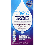 Thera Tears Eye Drops, Lubricant, Dry Eye Therapy