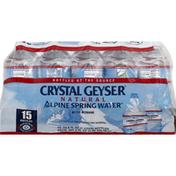 Crystal Geyser Alpine Spring Water Spring Water, Alpine, Natural