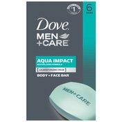 Dove Body And Face Bar Aqua Impact