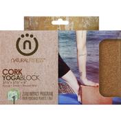 Natural Fitness Yogablock, Cork