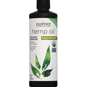 Nutiva Hemp Oil, Organic, Cold Pressed