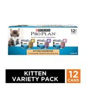 Purina Pro Plan Wet Kitten Food Variety Pack, FOCUS Kitten Favorites