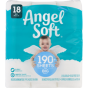 Angel Soft Unscented Bathroom Tissue Big Rolls