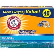 Arm & Hammer Plus Oxiclean Powder Laundry Detergent, Clean Burst, 40 Loads