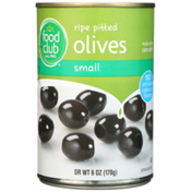 Food Club Small Ripe Pitted Olives