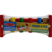 Melissa & Doug Classic Toy, Pound-A-Peg