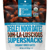 Made in Nature Dried Dates, Organic, Deglet Noor
