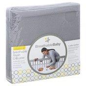 Breatheablebaby Crib Liner, Breathable Mesh, Classic