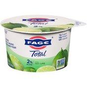 Fage Milkfat Greek Strained Yogurt with Key Lime