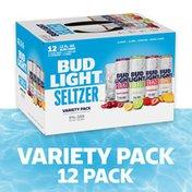 Bud Light Hard Seltzer Variety Pack, Gluten Free, Slim Cans