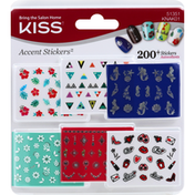 Kiss Accent Stickers
