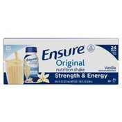 Ensure Original Nutrition Shake Vanilla Ready to Drink Bottles