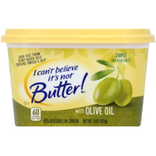 I Can't Believe It's Not Butter Vegetable Oil Spread, with Olive Oil, 45%