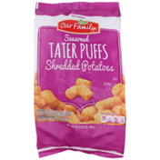 Our Family Seasoned Tater Puffs Shredded Potatoes