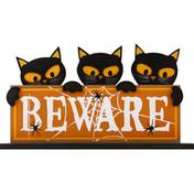 Creative Design Decor, Pumpkin Black Cat