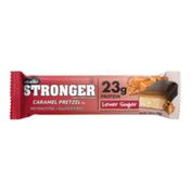 NuGo Stronger Caramel Pretzel, Gluten Free, 23g Whey Protein Bar