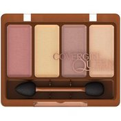 CoverGirl Queen Collection COVERGIRL Queen Collectionn Eye Shadow Quads Desert Bronze .19 oz  Female Cosmetics