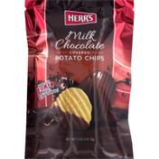 Herr's Milk Chocolate Covered Potato Chips