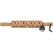 CraftKitchen Rolling Pin, Embossed