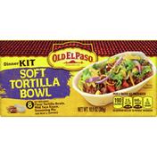 Old El Paso Dinner Kit, Soft Tortilla Bowl