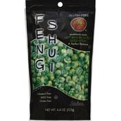Feng Shui Green Peas, Hot Wasabi Coated