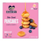 Belgian Boys Bite-Sized Pancakes