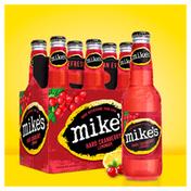 Mike's Beer, Malt Beverage, Premium, Hard Cranberry Lemonade