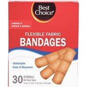 Best Choice Flexible 3/4 Inch Bandaids