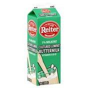 Reiter Dairy Buttermilk, Cultured Lowfat, 1% Milkfat