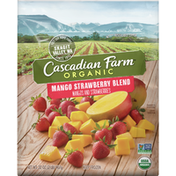Cascadian Farm Organic Mango Strawberry Blend, Frozen Fruit, Non-GMO