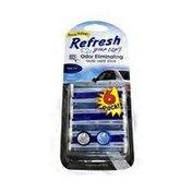 Refresh New Car/Cool Breeze Scent Auto Vent Stick