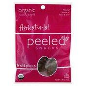 Peeled Fruit Picks, Apricot-A-Lot