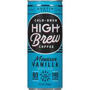 High Brew Cold-Brew Coffee Mexican Vanilla