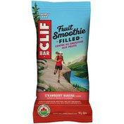 CLIF BAR Organic Fruit Smoothie Filled Strawberry Banana Energy Bar