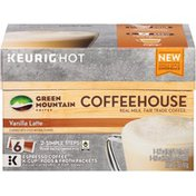 Green Mountain Coffee Coffeehouse Vanilla Latte K-Cup Pods & Froth Packets