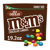 M&M's Milk Chocolate Candy Family Size