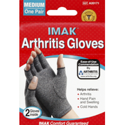 IMAK Gloves, Arthritis, Unisex Size: M
