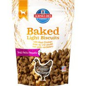 Hill's Science Diet Baked Light Biscuits with Real Chicken Small Dog Treats