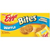 Kellogg's Eggo Bites Maple Flavored Waffles
