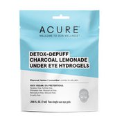 ACURE Detox-Depuff Charcoal Lemonade Under Eye Hydrogels