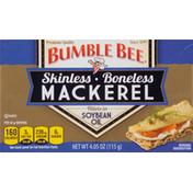 Bumble Bee Mackerel Fillets in Soybean Oil, Skinless, Boneless