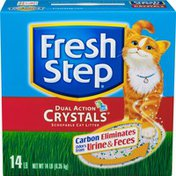 Fresh Step Cat Litter, Scoopable, Dual Action Crystals