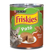 Friskies Classic Pate Mixed Grill Wet Cat Food
