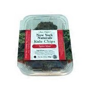 New York Seltzer Raw Vegan Spicy Miso Kale Chips